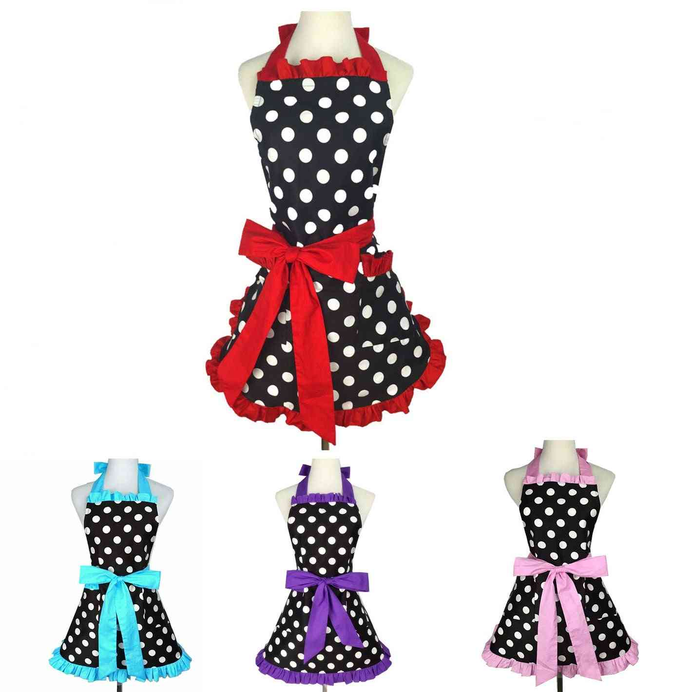 Lovely Apron Kitchen Cooking Work Clothes, Waterproof & Oilproof
