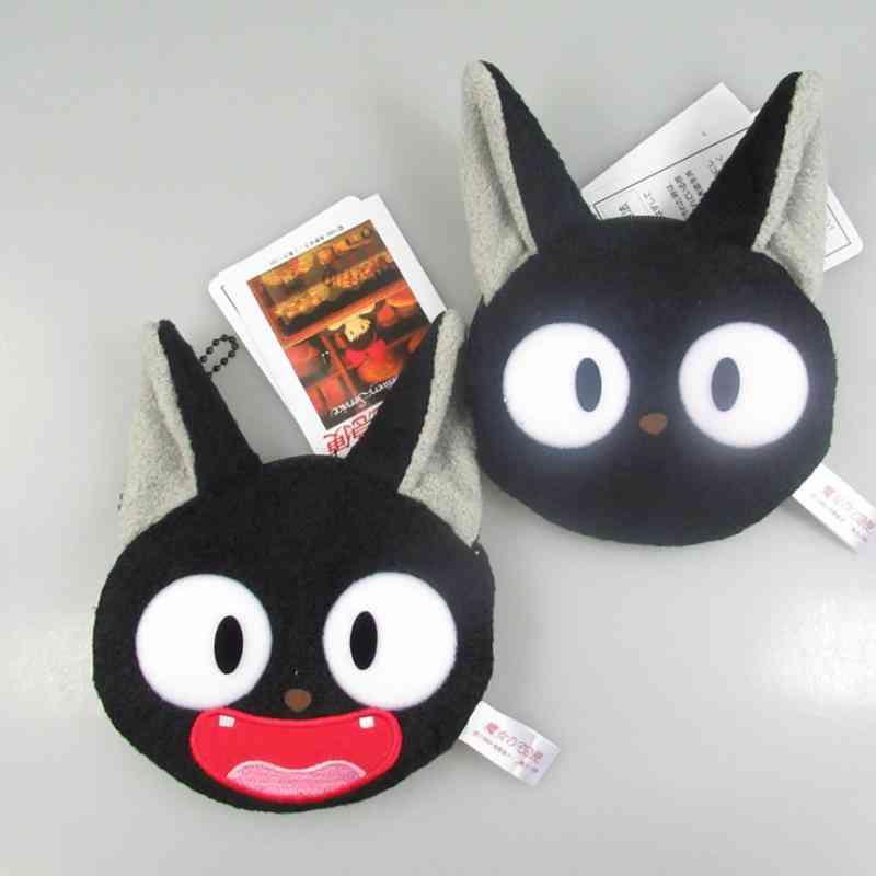 Cute Cartoon Delivery Service Kiki Cat Coin Bag Unisex Wallet Multi-functional Plush Purses
