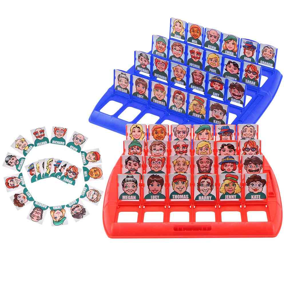Family Guessing Games  Board - Parent-child Party Indoor Games Props (a)