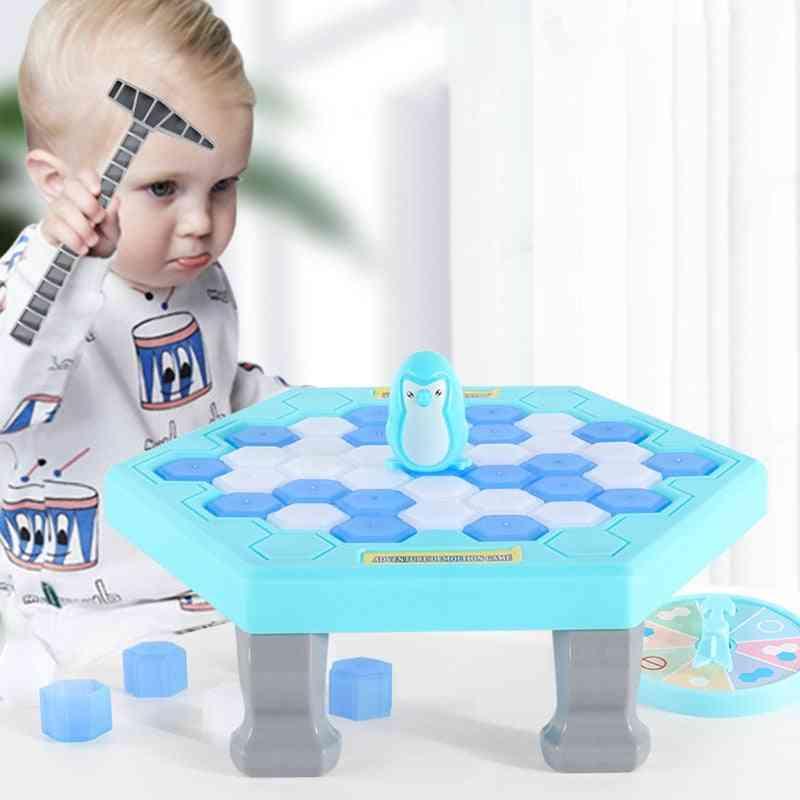 Mini Parent-child Interactive Entertainment Table Stress Reliever Toy (blue)