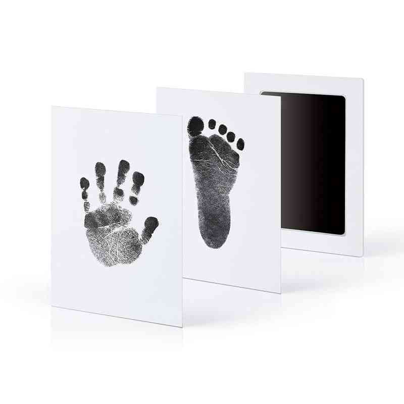 Baby Footprints Hand Print Ink Pad, Safe Non-toxic Ink Pads (a)