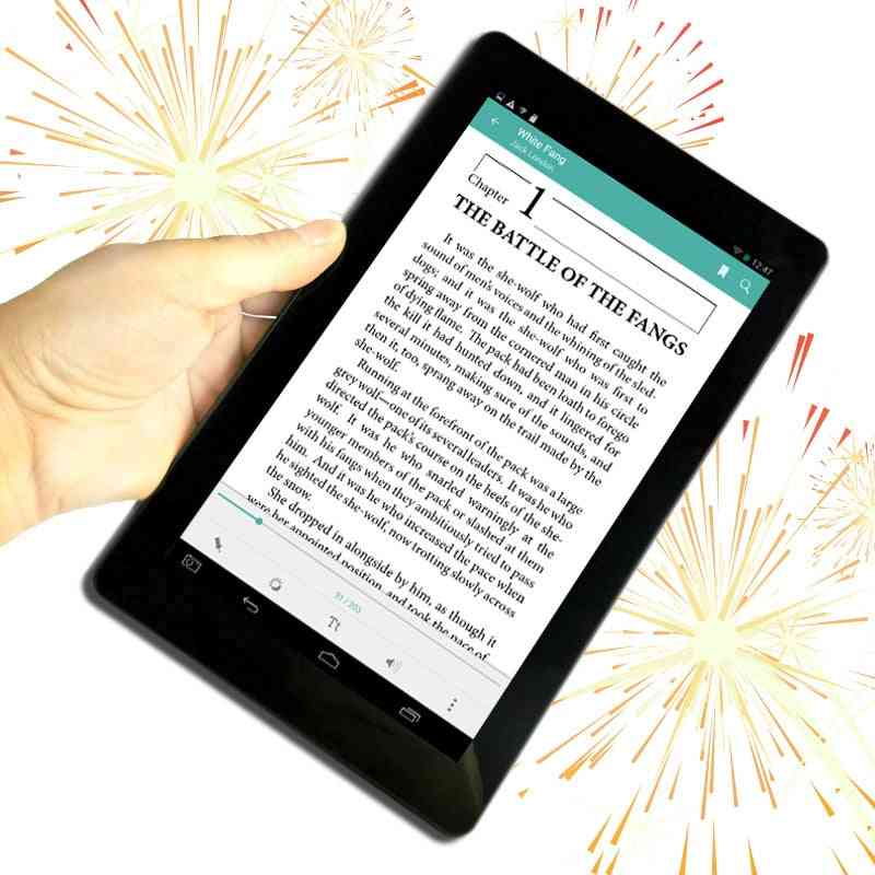 9 Inch Android Digitl Player Eye Protection Color Display Mini Pc Wifi Smart Ebook Reader