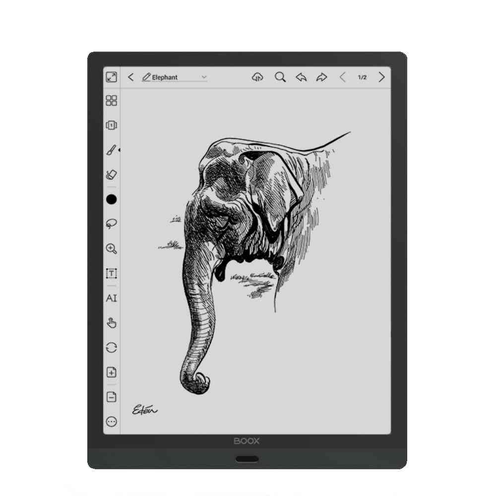 13.3 Inch Android 10 64gb/256g E-ink Tablet  2200x1650 Otg Type-c Ebook Reader (a Black)