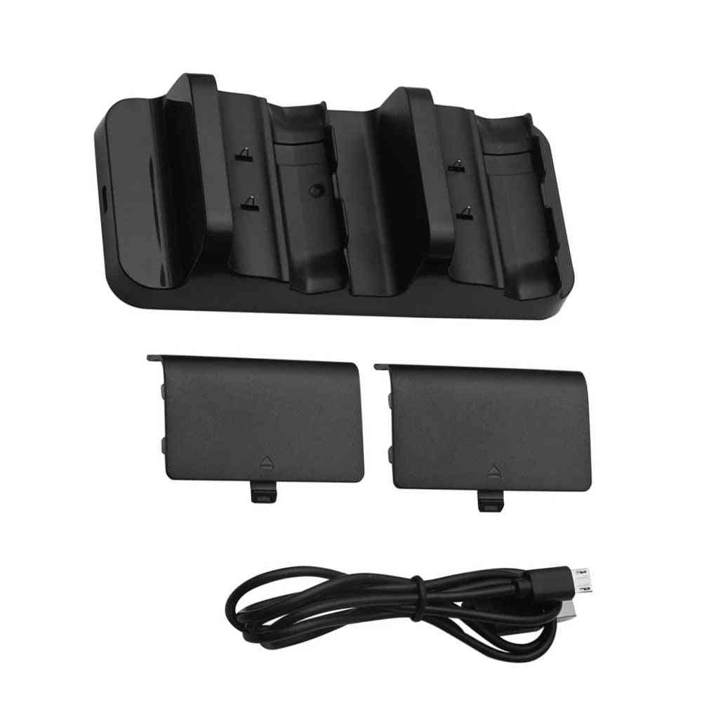 Gamepad Charger For X Box Xbox One S X Controller Rechargeable Battery Pack