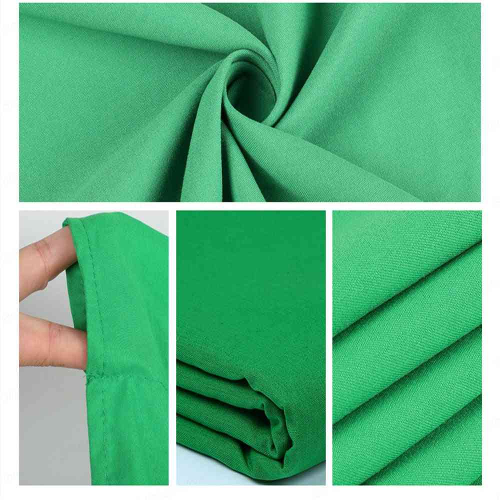 Photography Background Backdrop Smooth Muslin Cotton Green Screen Cloth