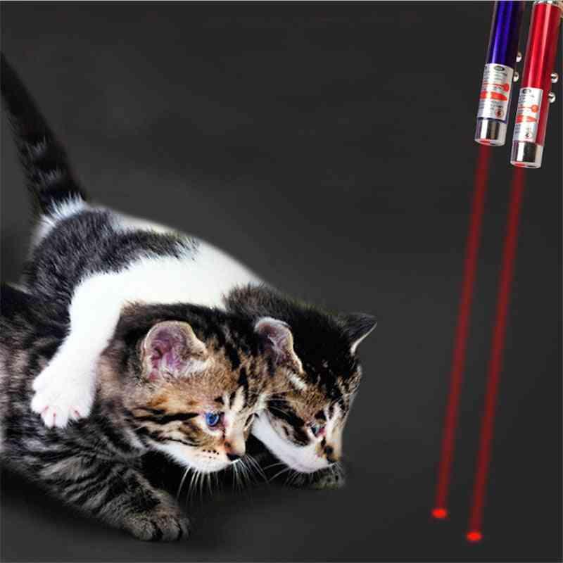 Creative Pet Led Laser Toy Cat Pointer Pen Interactive Random Color (random Color)