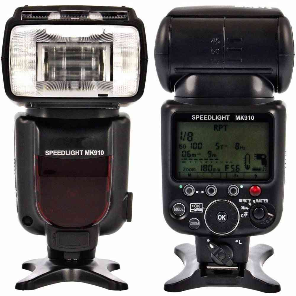 Meike Mk910 1/8000s Sync Ttl Camera Flash Light Speedlite For Nikon