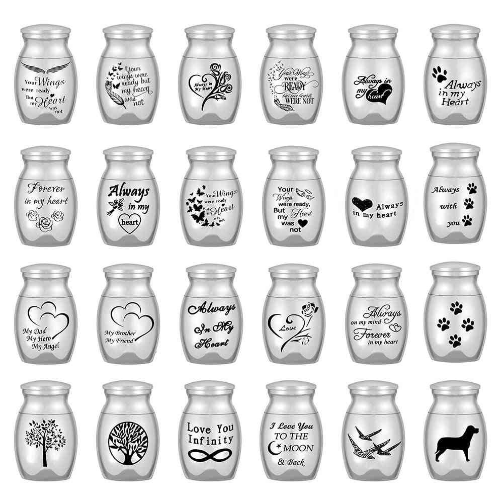 Mini Urns For Human Ashes Cremation Keepsake Container Jar