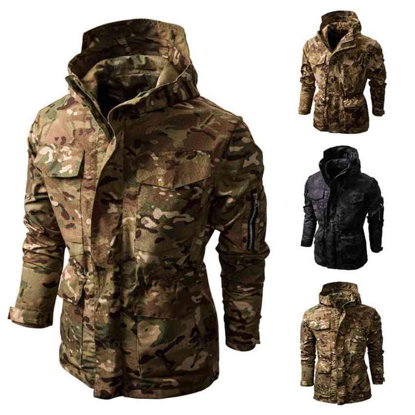 Winter Bomber Military Jacket/coat Cotton Pilot Jacket Autumn Slim Fit Coat