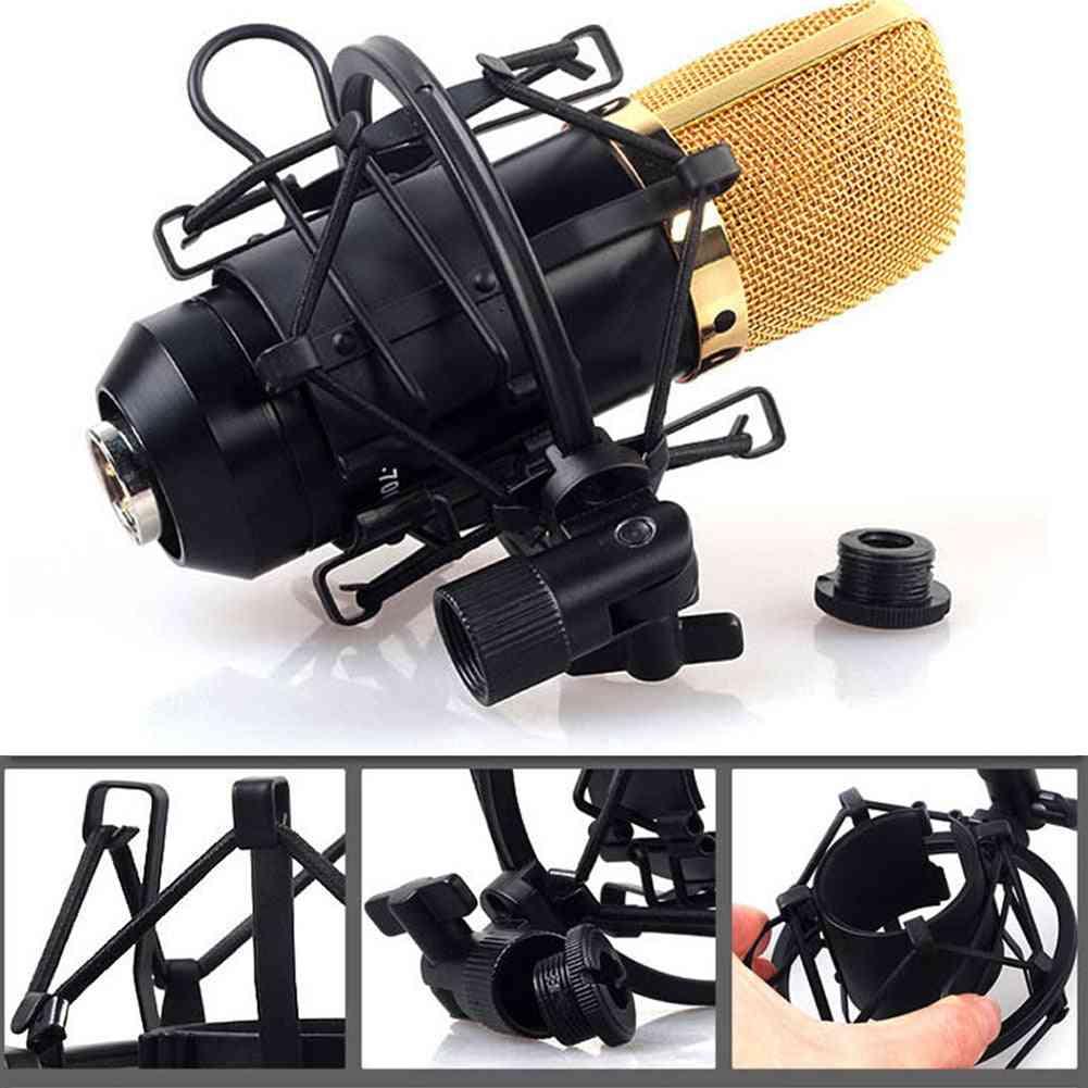 Studio Recording Reduce Noise Spider Professional Metal Microphone Shock Mount