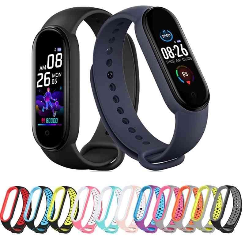 Smart Watches Band, Sport Fitness Tracker, Pedometer, Heart Rate, Blood Pressure Monitor, Bluetooth Bracelet Men, Women