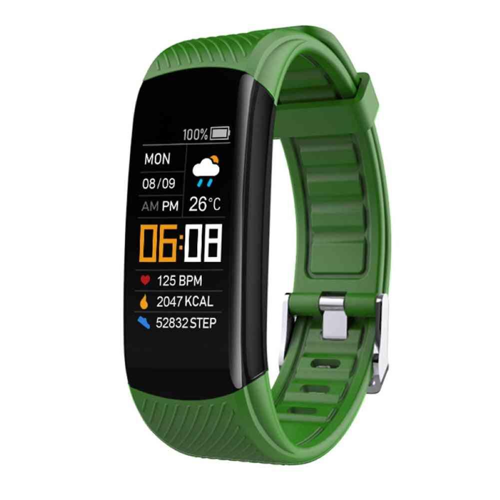 Bluetooth, Waterproof, Heart Rate, Sleep Monitor Fitness Sports Smart Bracelet, Multifunctional, Touch Screen Smart Band