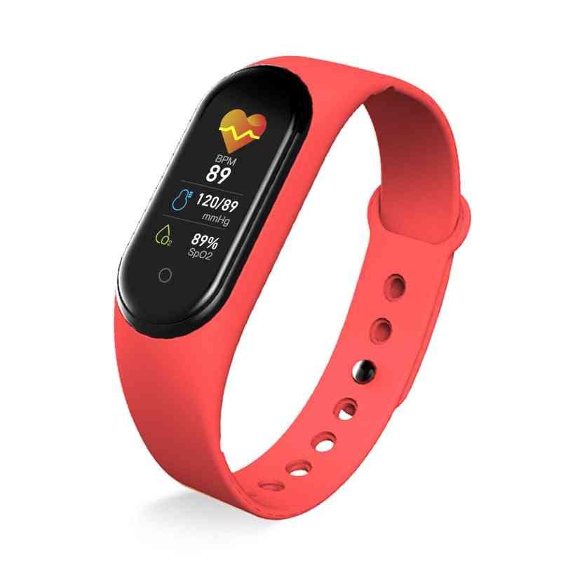 Sport Fitness Tracker, Bracelet, Blood Pressure, Heart Rate Monitor, Smart Band, Wristband Men