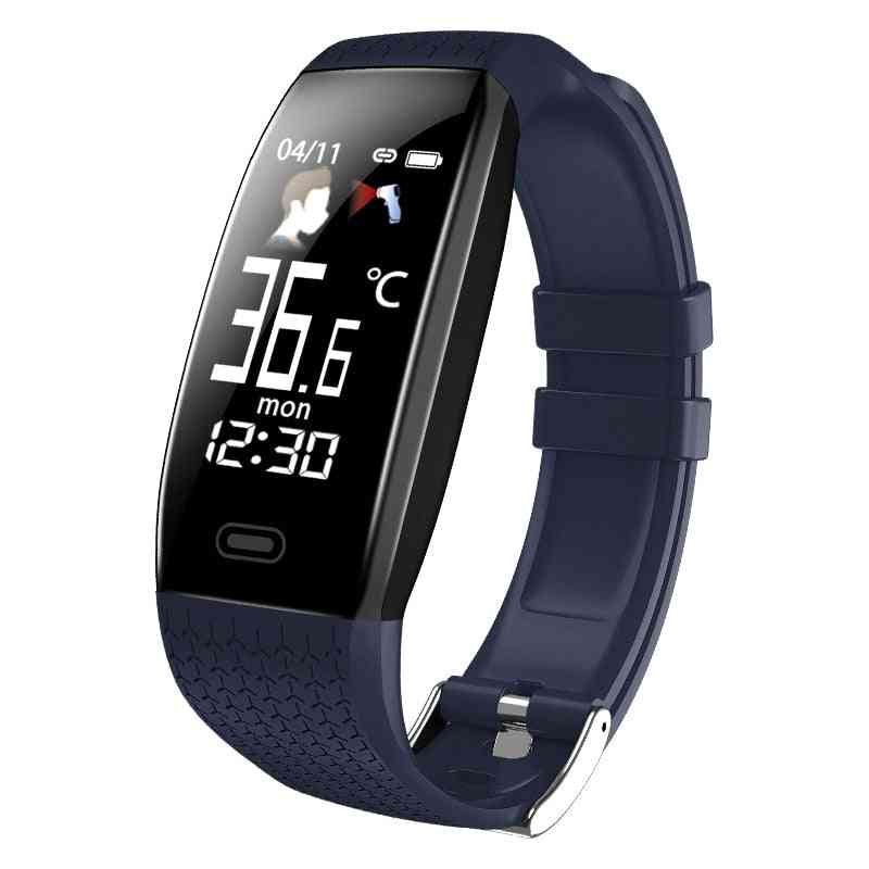 Fitness Trackers With Body Temperature Monitor, Smart Watches, Wristband With Pedometer, Bracelet