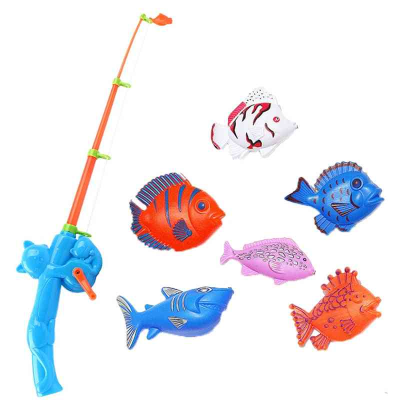 Pool Fishing Bathroom Child Magneticwater Pool Game Toy