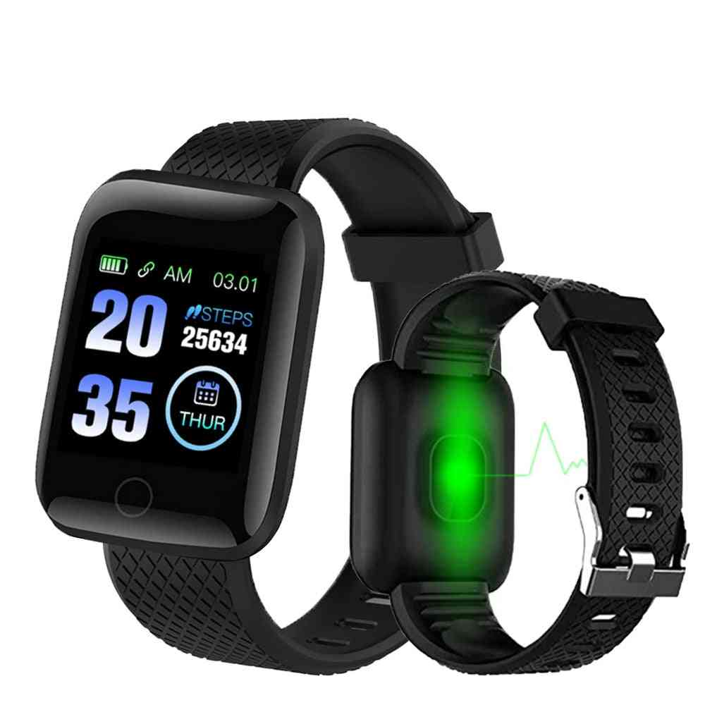 Smart Watch, Plus Heart Rate Wristband, Sports Watches, Band, Waterproof For Android, Ios
