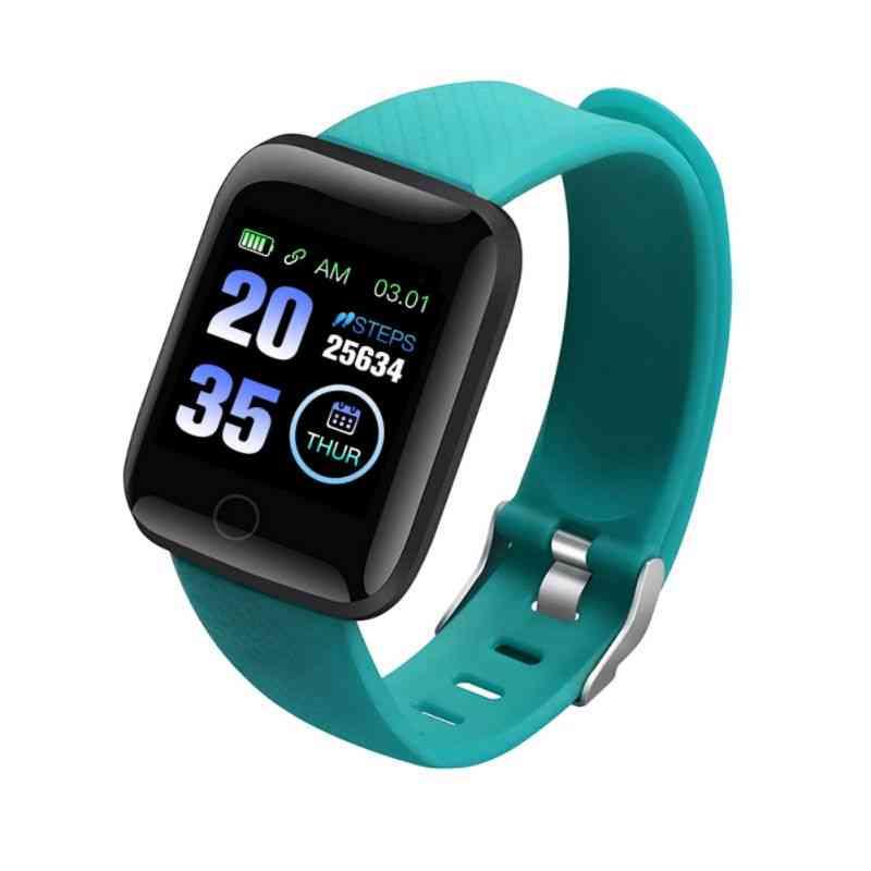 Plus Smart Watch, Health Wristband, Blood Pressure, Heart Rate Pedometer, Fitness Tracker, Bracelet Waterproof