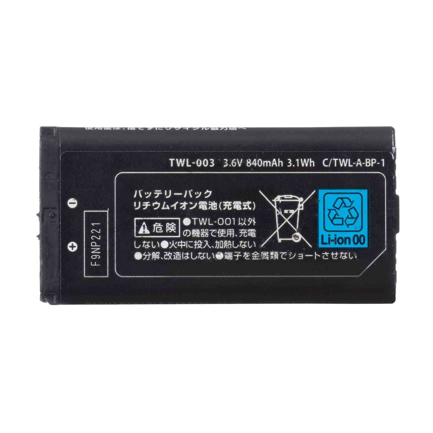 Rechargeable Battery Pack Replacement For Nintendo