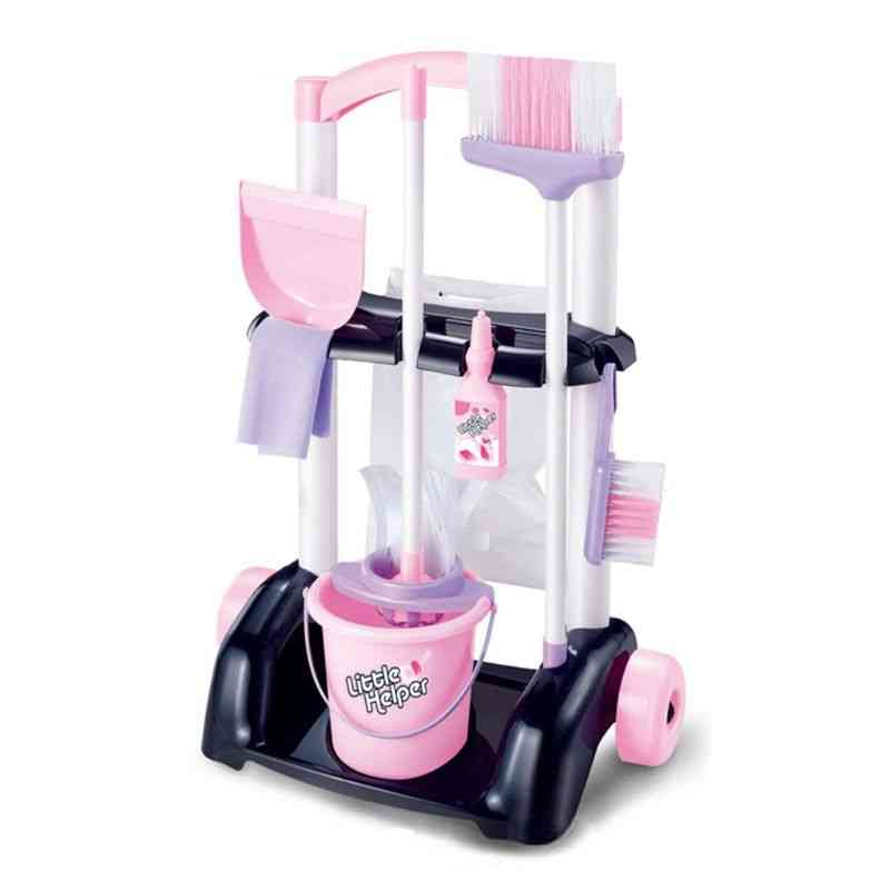 House Cleaning Trolley Set