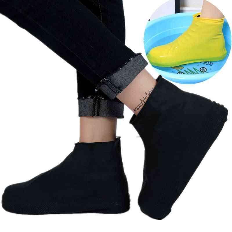 Waterproof Rubber Anti Slip Rainy Boot Overshoes