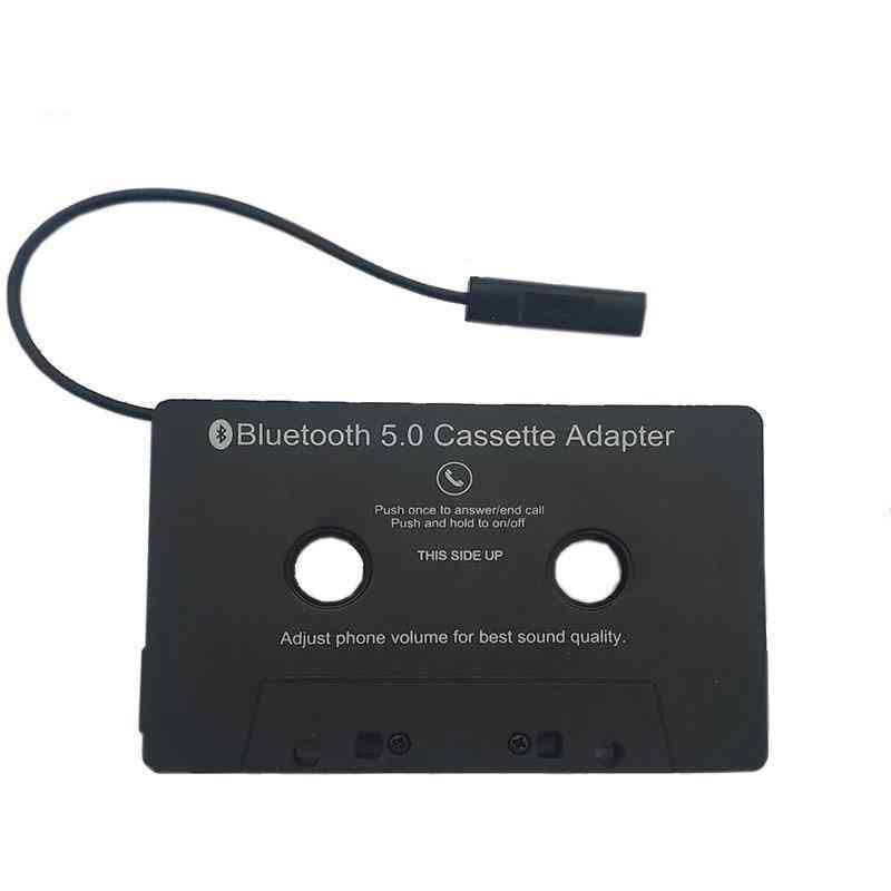 Bluetooth 5.0 Music Car Audio Receiver Cassette Player Adapter Mp3 Converter