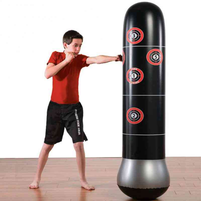 Inflatable Stress Punching Tower Bag Boxing Pillar