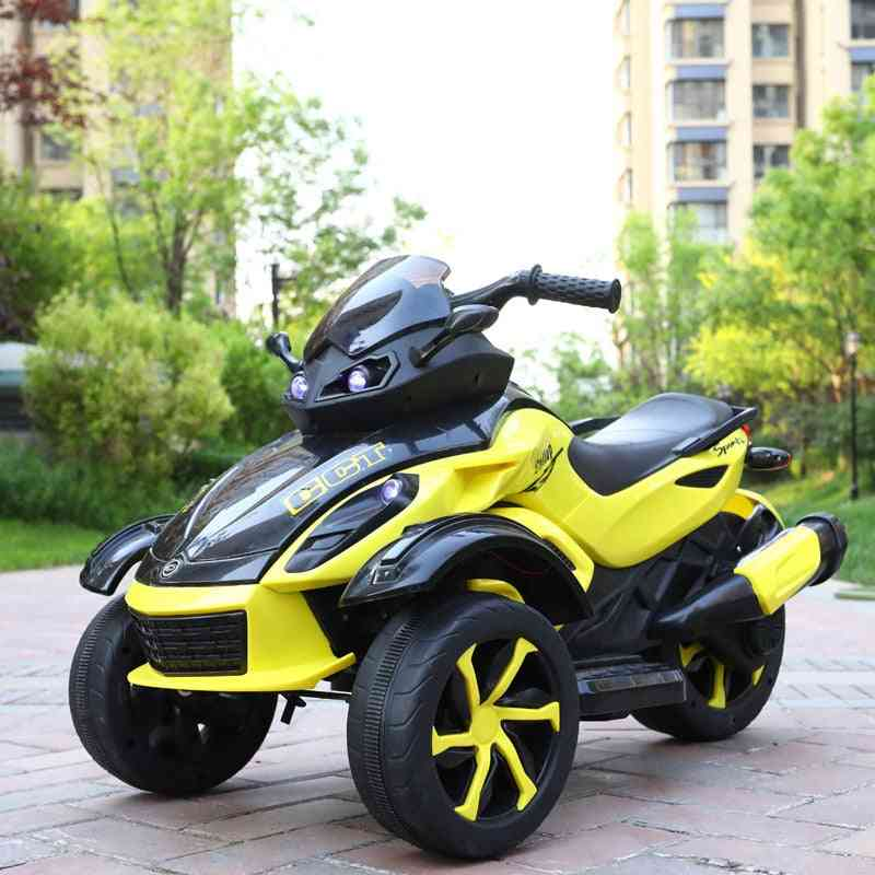 Electric Dual Drive Motorcycle