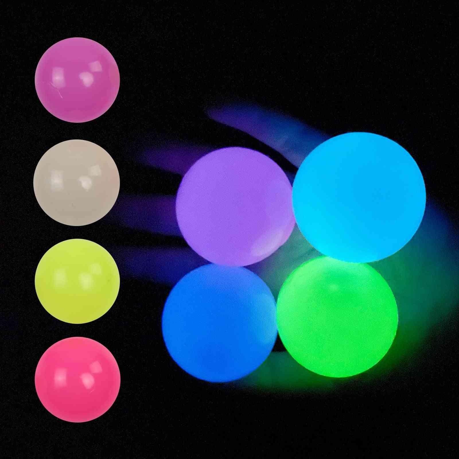 Luminous Wall Target Ball Sucker