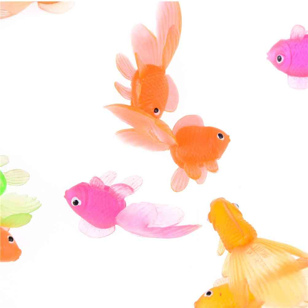 Soft Rubber Gold Fish
