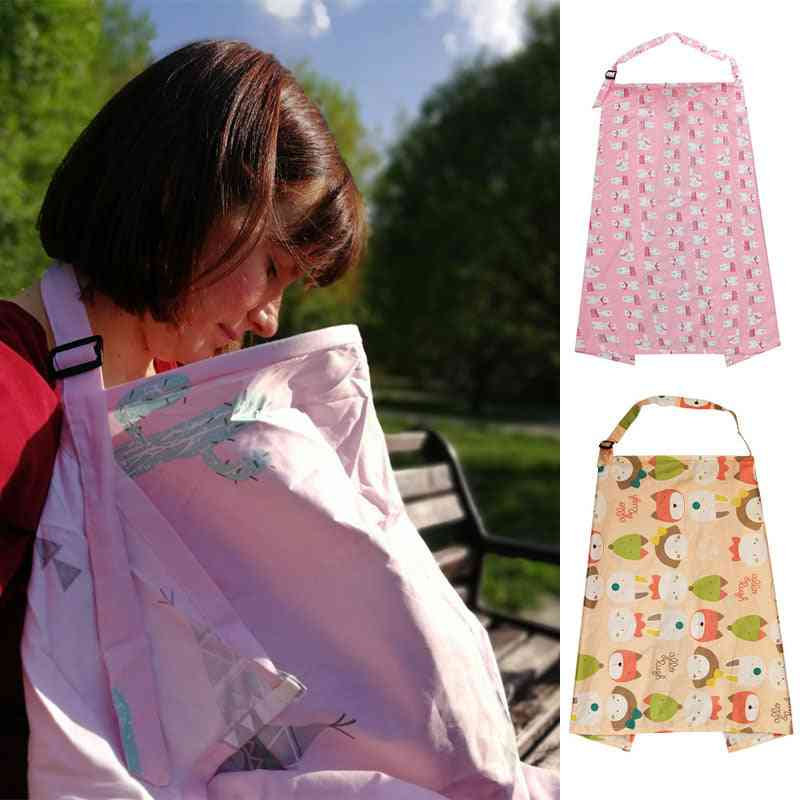Baby Feeding Nursing Covers Mum Breastfeeding Nursing Poncho Cover Cloth