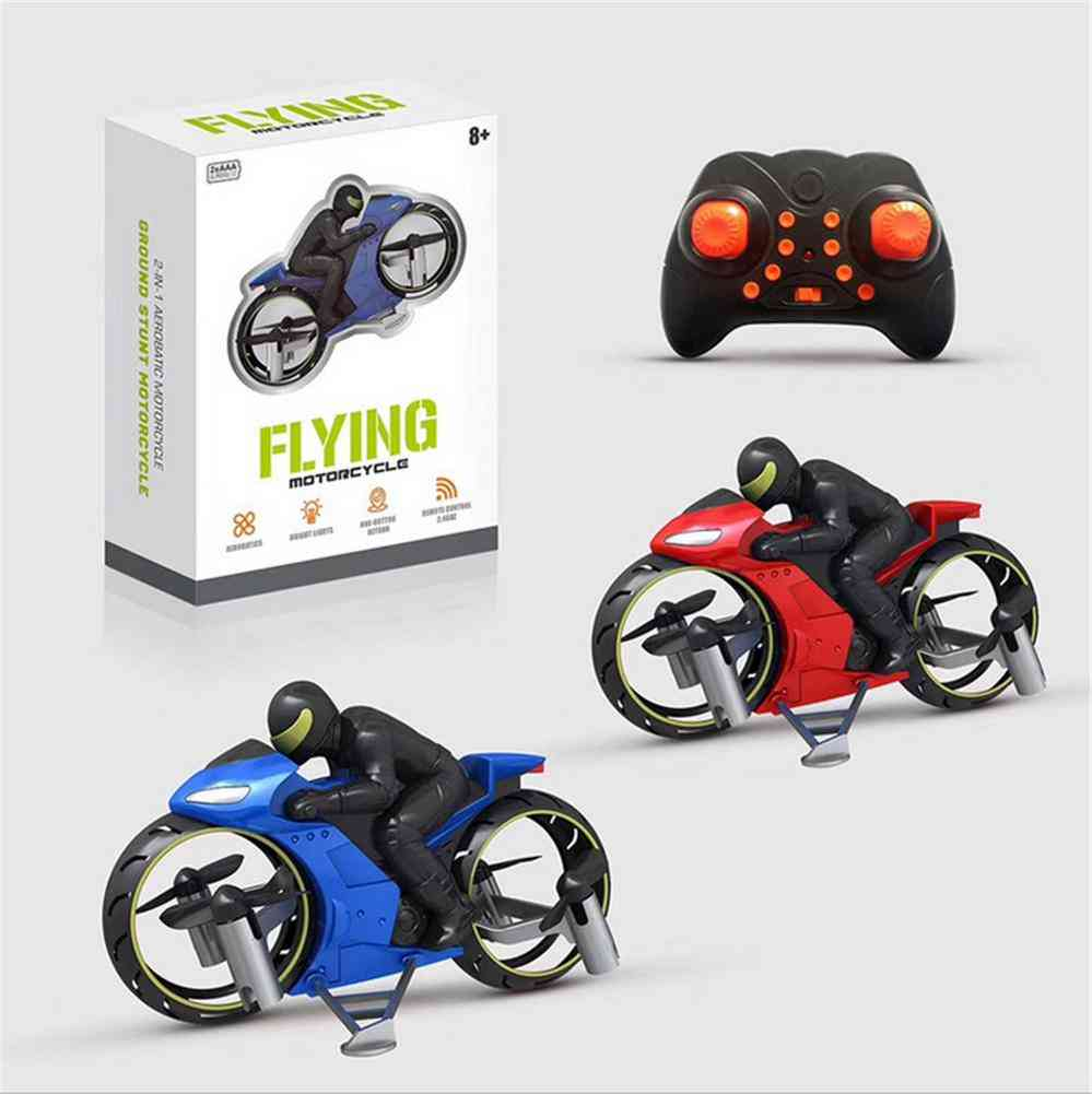 Remote Control Stunt Motorcycle (blue)