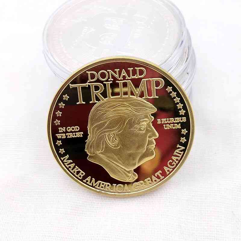 American 45th President Donald Trump Gold Coin