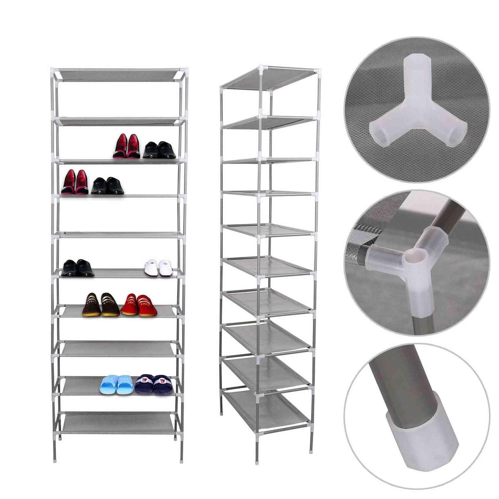 Multi Layer Tiers Shoe Rack Storage, Shelf Cabinet Organizer