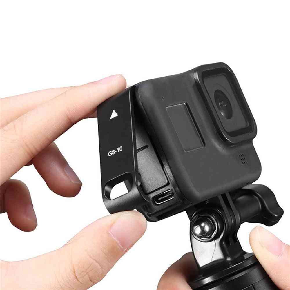 Rechargeable Side Protective Cover Battery Lid For Gopro Hero
