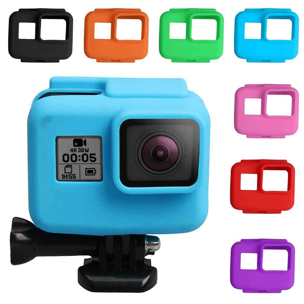 Anti-scratch Silicon Gel Camera Protective Case Cover Shell Housing For Gopro Hero