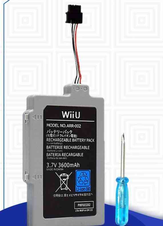 Rechargeable Battery Pack For Nintendo Wii U Controller