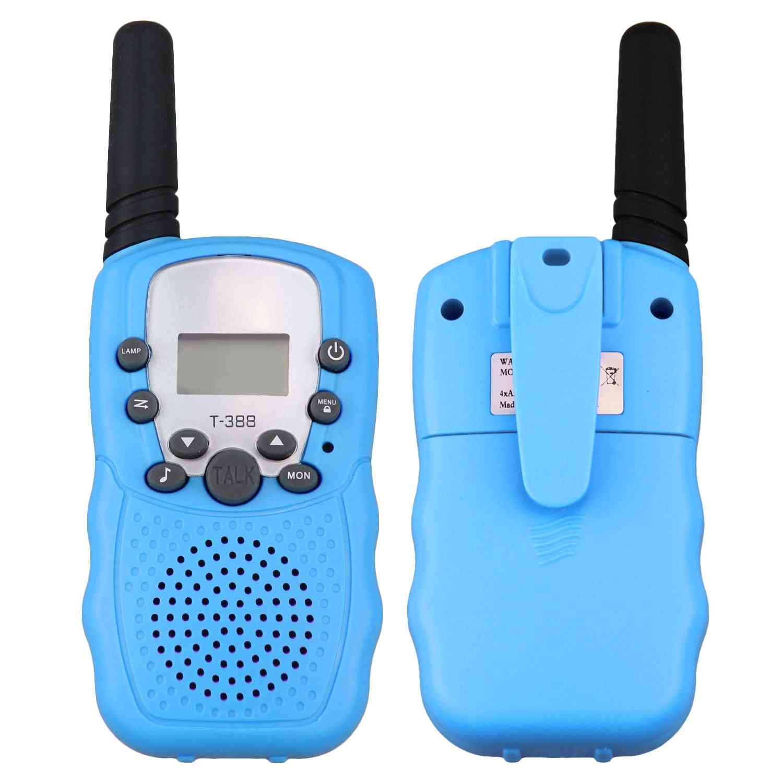 2pcs 3-5km Range Two Way Walkie Talkies Radio Interphone Toy