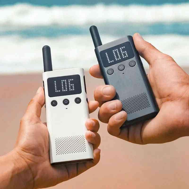 Smart Walkie Talkie 1s With Fm Radio Speaker