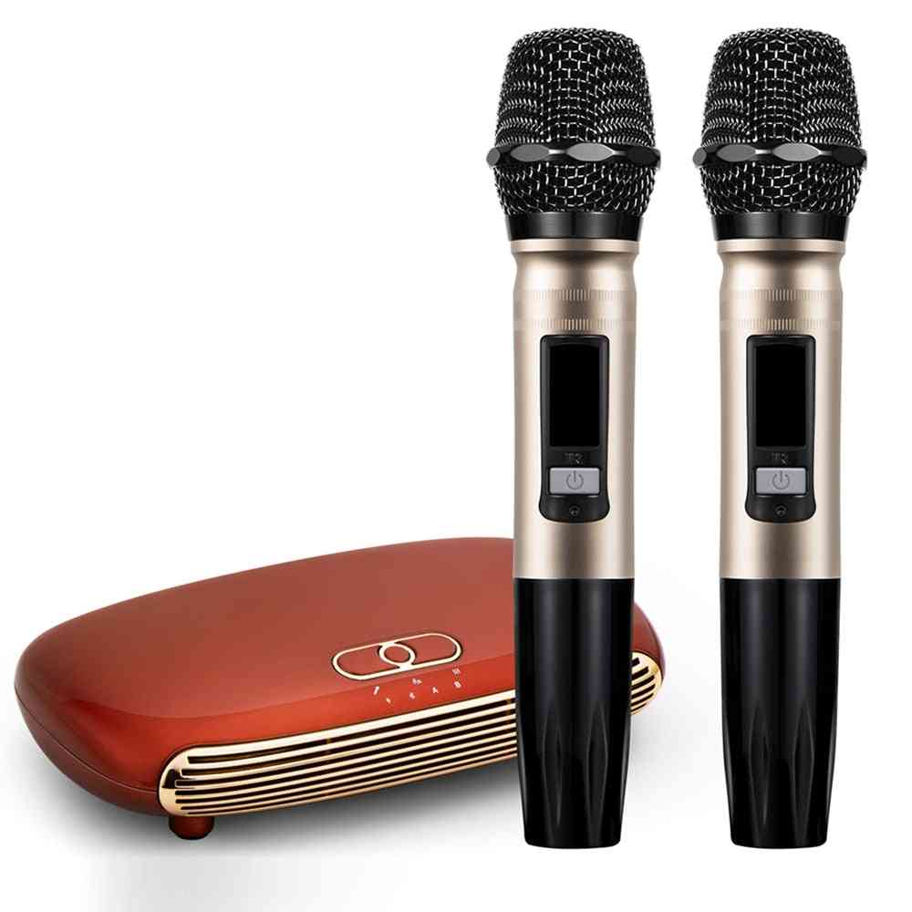 Wireless Bluetooth 5.0 Karaoke Box Microphone Karaoke Player