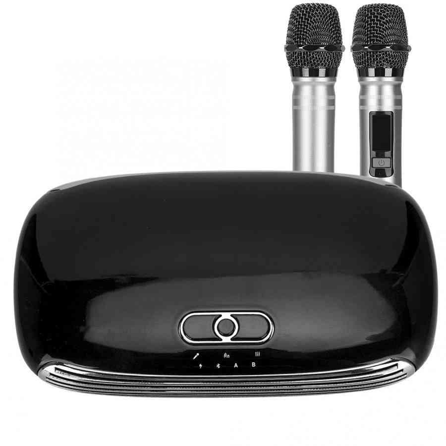 Handheld Wireless Microphone Players Singing Karaoke Machine Box
