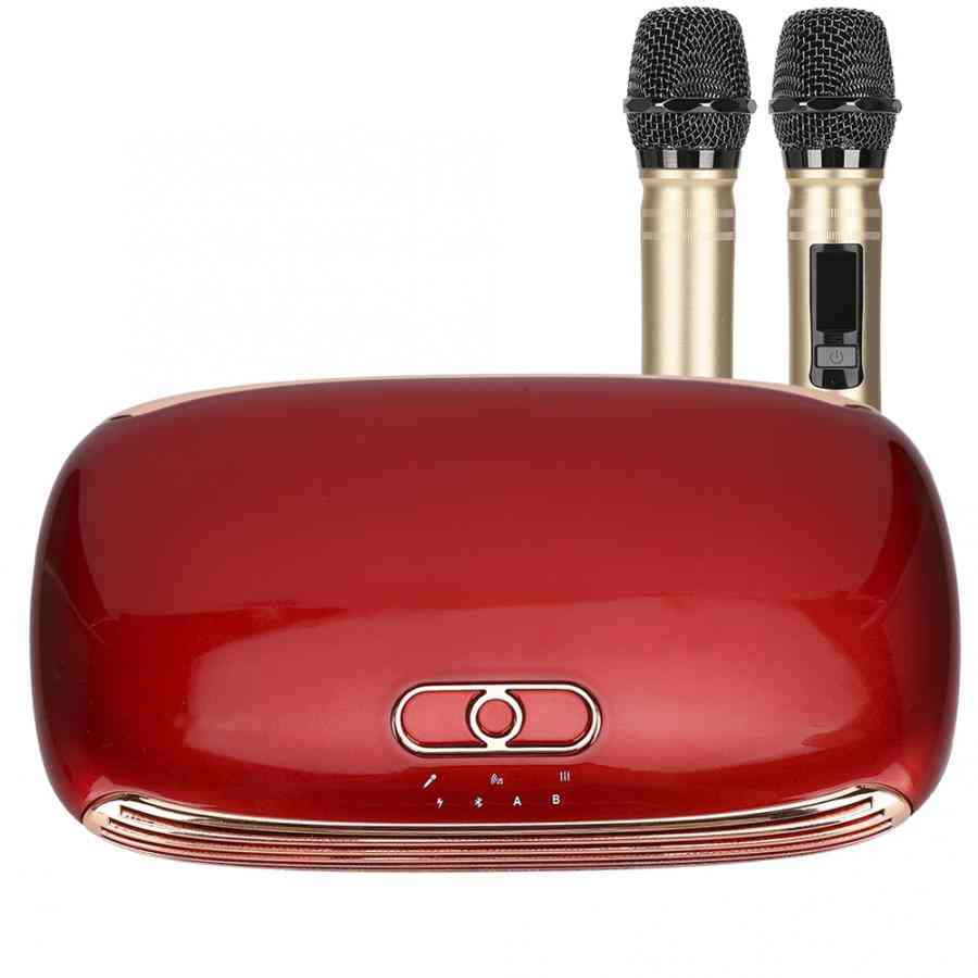 Box Mixer System Mini Family Handheld Singing Machine Microphone