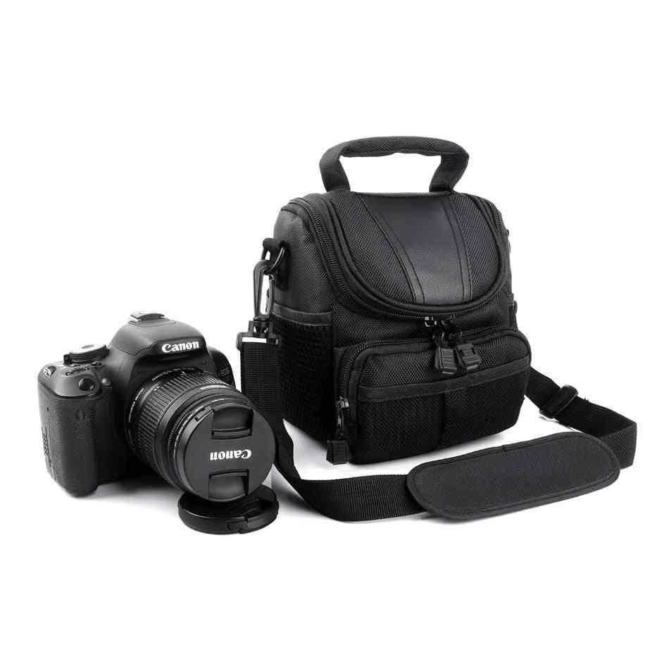 Camera Case Bag For Canon Powershot  (black)