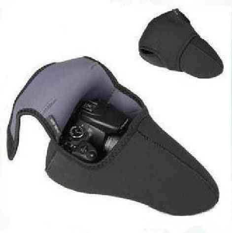 2 Sides Use Neoprene Soft Slr Dslr Camera Liner Case Easy Sleeve Pouch
