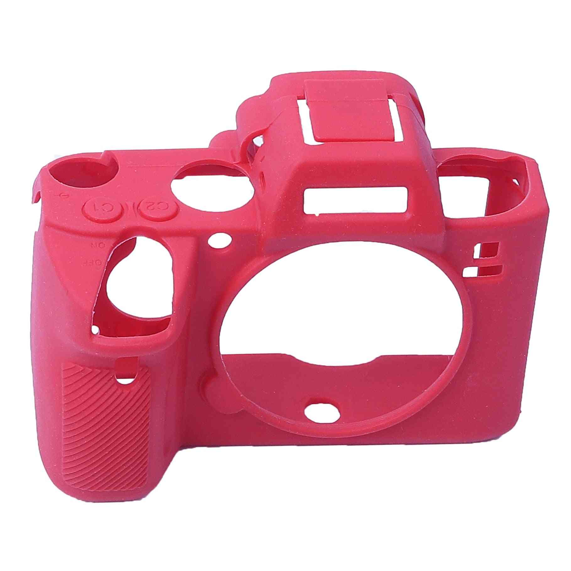 Soft Silicone Rubber Mirrorless System Camera Silicone Case Cover Bag