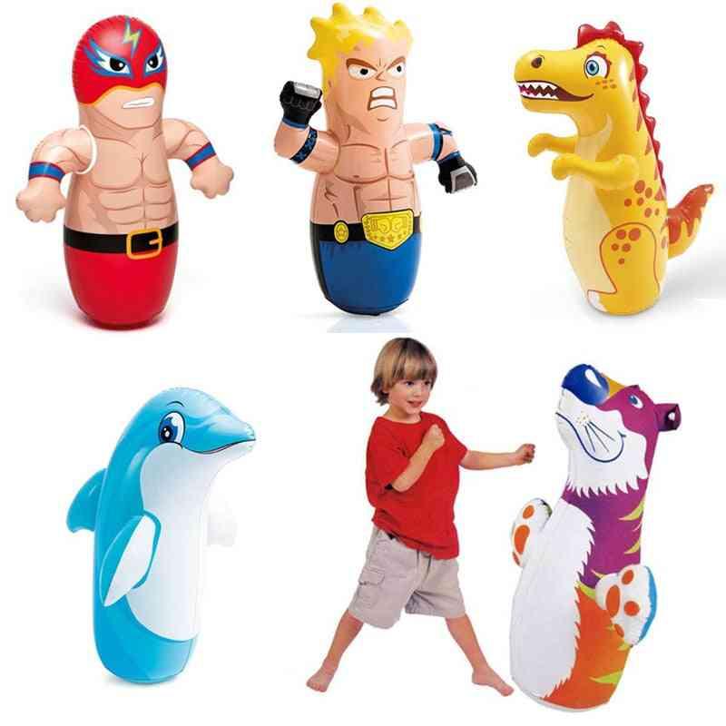 Boxing Inflatable Punching Bag Kids Tumbler
