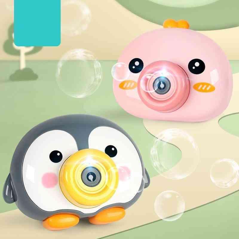 Bubble Machine Baby Bath Toy