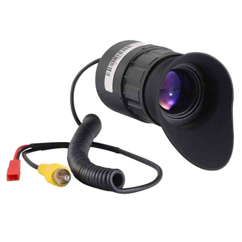 V780 0.5 Inch 1024x768 Display Lens Night-visions 21mm Eyepieces Camera (black)