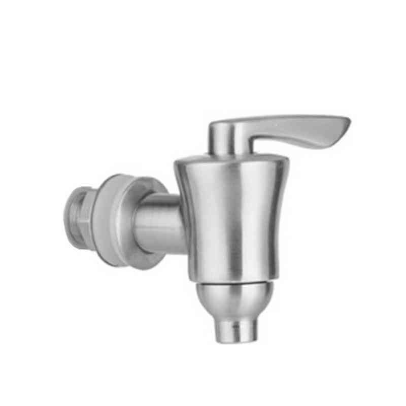 Beverage Dispenser Replacement Spigot Brushed Stainless Steel Water Faucet With Ceramic Core Fits