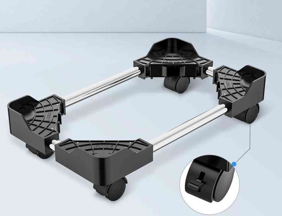 Cpu Stand- Holder With Wheels For Computer, Desktop Mobile