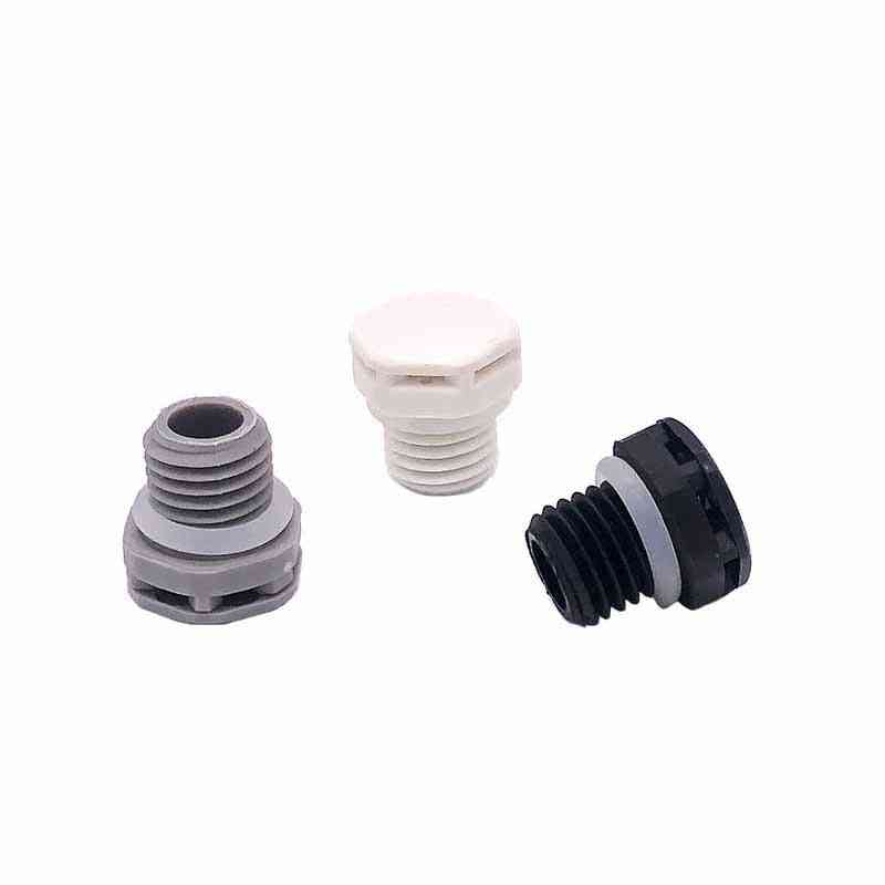 Nylon Waterproof Air Vent Valve Screw In Protective Plug E-ptfe Plastic Breathers